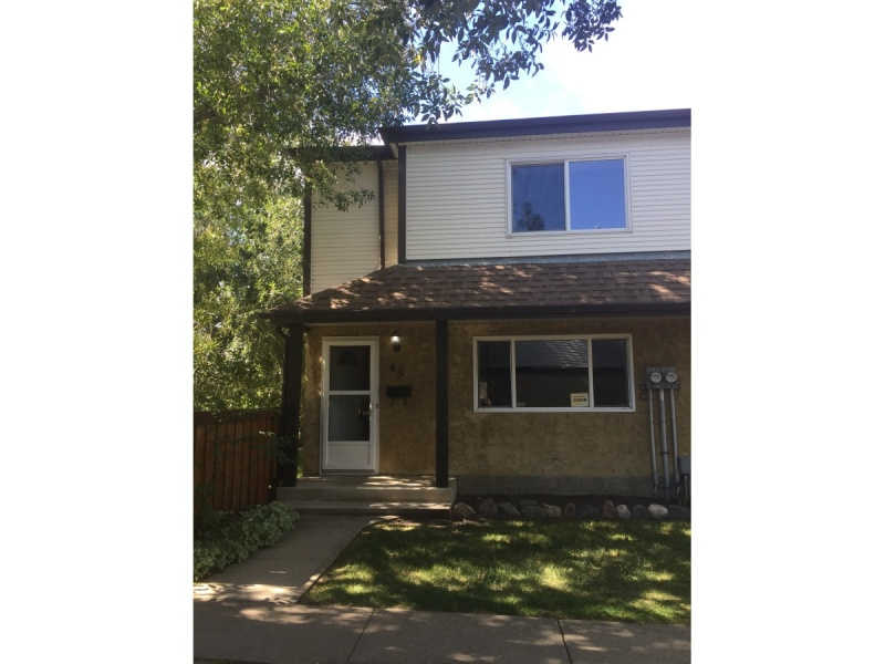 #45 14511 52 ST NW, EDMONTON AB, T5A 4M6, 3 Bedrooms Bedrooms, ,1.5 BathroomsBathrooms,Town House,Available,52,1036